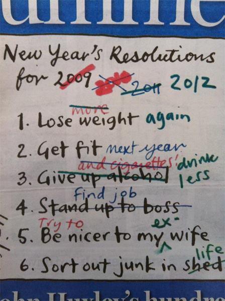 2013 New Goals